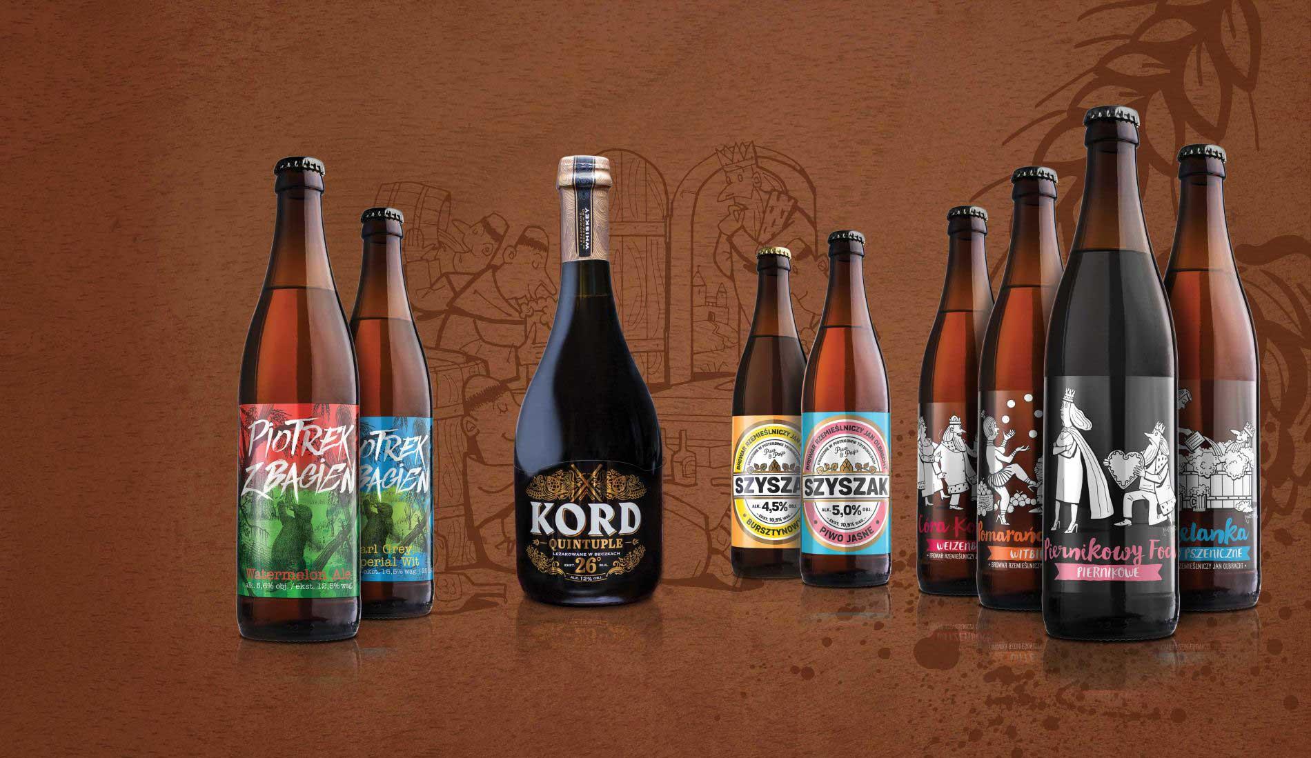 Browar Olbracht, tradycyjnie warzone piwa