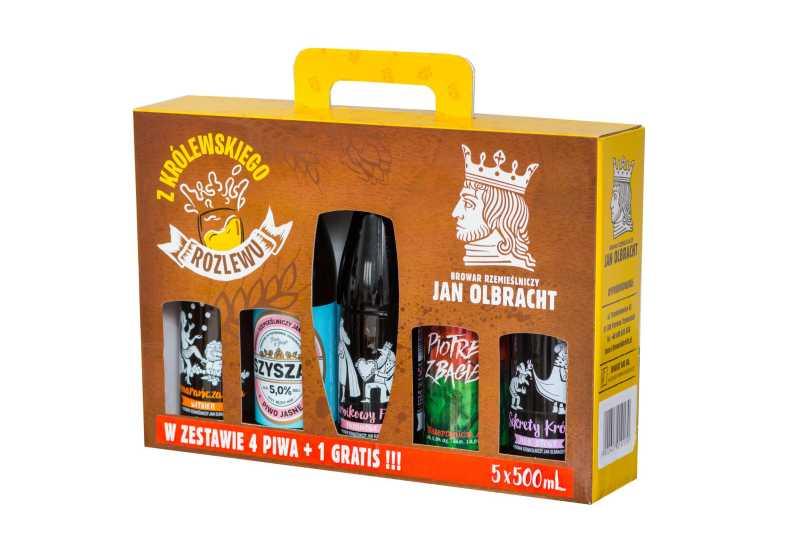 Zestaw 5 piw na prezent w ładnym opakowaniu